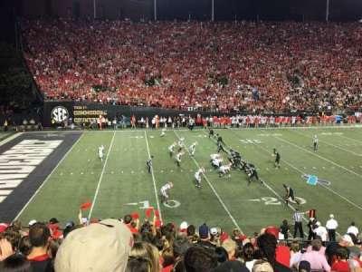 Vanderbilt Stadium, section: A, row: 33, seat: 43