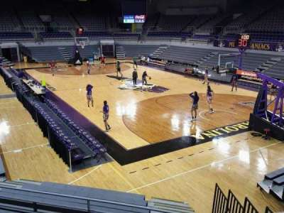 Williams Arena at Minges Coliseum, section: 205, row: ADA, seat: 1-8