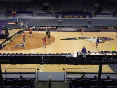 Williams Arena at Minges Coliseum, section: 208, row: F, seat: 3