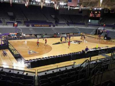 Williams Arena at Minges Coliseum, section: 209, row: H, seat: 8