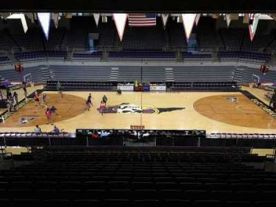 Williams Arena at Minges Coliseum, section: 215, row: R, seat: 10