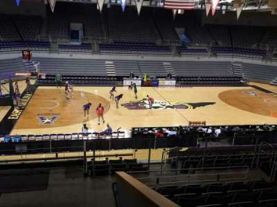 Williams Arena at Minges Coliseum, section: 216, row: L, seat: 9