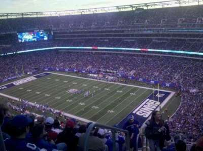 MetLife Stadium  section 307