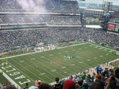 Lincoln Financial Field section 219