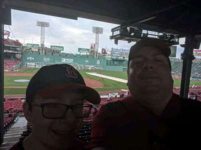 Fenway Park, section: Grandstand 15, row: 10, seat: 22