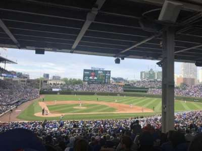 Wrigley Field section 221