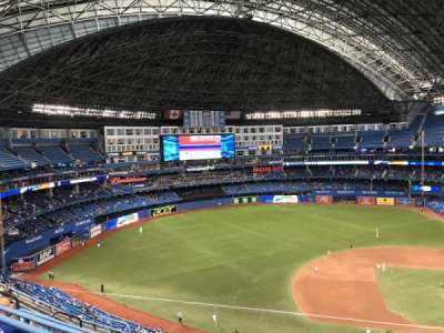 Rogers Centre, section: 530L, row: 8, seat: 106