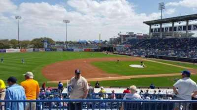 George M. Steinbrenner Field, section: 217, row: C, seat: 14