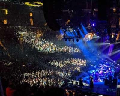 Matthew Knight Arena, section: 101, row: Q, seat: 5