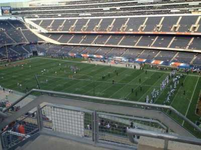 Soldier Field, section: 432, row: 2, seat: 1