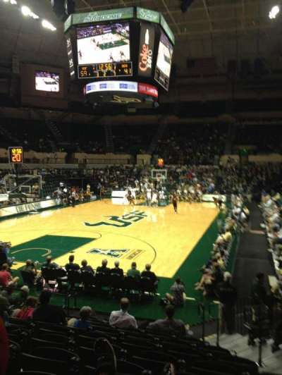 USF Sun Dome, section: 108, row: E, seat: 5, 6, 7, 8
