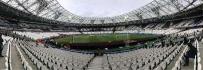 London Stadium section 119