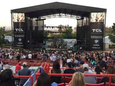 Irvine Meadows Amphitheatre, section: Loge 6, row: CC, seat: 609