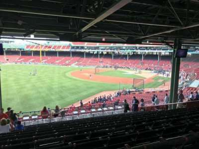 Fenway Park, section: Grandstand 31, row: 16, seat: 22