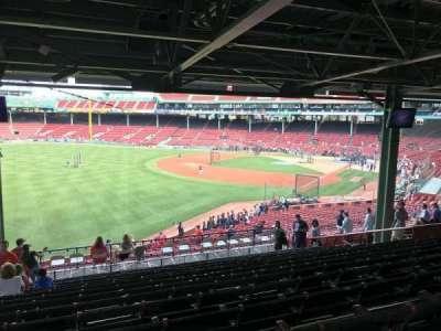 Fenway Park section Grandstand 31