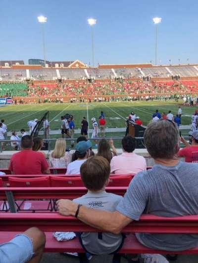 Gerald J. Ford Stadium, section: 106, row: 6, seat: 8