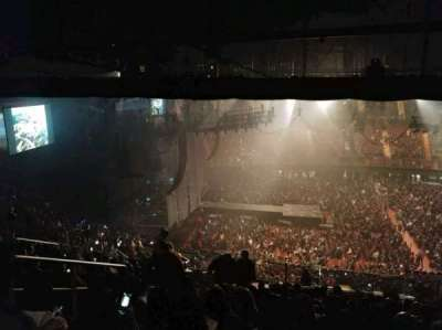 The Forum, section: 226, row: 20, seat: 5