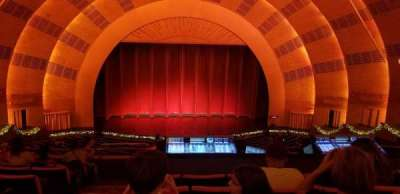 Radio City Music Hall section 2nd Mezzanine 4