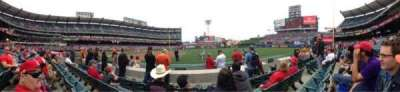 Angel Stadium, section: F127, row: D, seat: 12