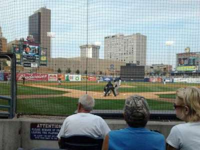 Fifth Third Field, section: 111, row: 4, seat: 6