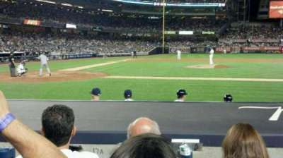 Yankee Stadium section 017a