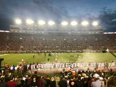 Bobby Bowden Field at Doak Campbell Stadium section 11