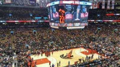 Air Canada Centre, section: 323, row: 3, seat: 2