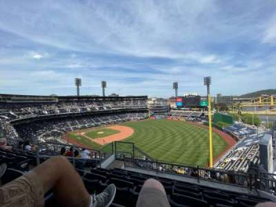 PNC Park, section: 301, row: X, seat: 8