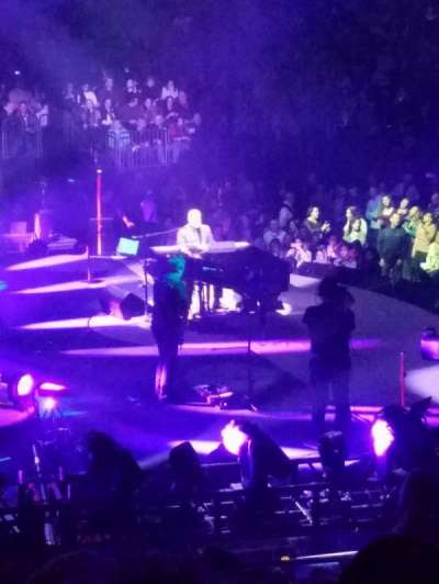 Madison Square Garden, section: 114, row: 16, seat: 18