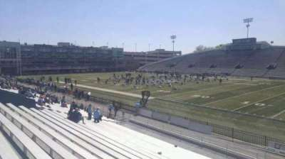 Foreman Field , section: 114, row: 10, seat: last