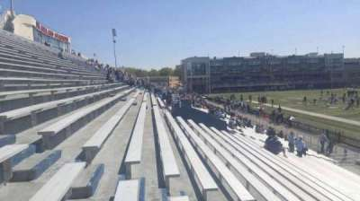 Foreman Field, section: 114, row: 10, seat: last