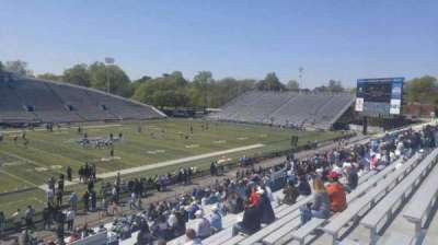 Foreman Field, section: 121, row: 20, seat: last