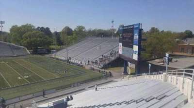 Foreman Field, section: 116, row: 30, seat: last