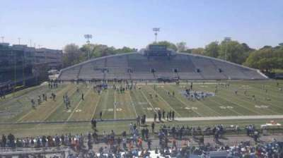 Foreman Field, section: 120, row: 30, seat: last