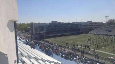 Foreman Field, section: 117, row: 40, seat: last