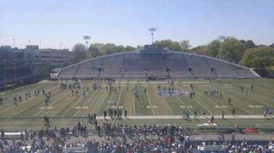 Foreman Field, section: 119, row: 40, seat: last