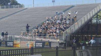 Foreman Field, section: 114, row: 1, seat: mid
