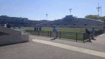 Foreman Field, section: between 114-113