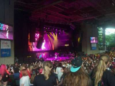 Xfinity Arena, section: 8, row: D, seat: 19