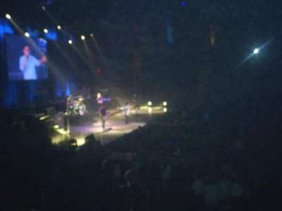Agganis Arena, section: 114, row: I, seat: 11