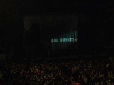 Agganis Arena, section: 109, row: P, seat: 1