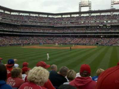 Citizens Bank Park, section: 102, row: 6, seat: 10