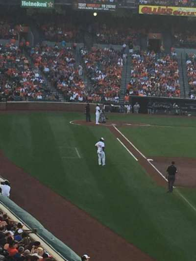 Oriole Park at Camden Yards, section: 3, row: 2, seat: 13