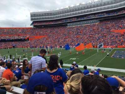 Ben Hill Griffin Stadium, section: 30, row: 24, seat: 17