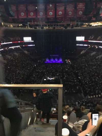 Wells Fargo Center, section: 207AX, row: 8, seat: 3