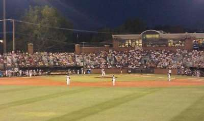 Hawkins Field, section: N, row: 4, seat: 16