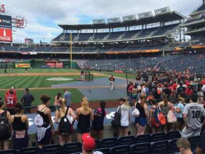 Nationals Park, section: 117, row: L, seat: 13