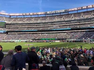 MetLife Stadium, section: 135, row: 6, seat: 27