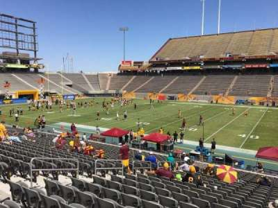 Sun Devil Stadium section 6