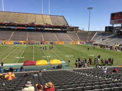 Sun Devil Stadium section 6